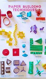 Best 11 3D paper sculptures techniques poster ...