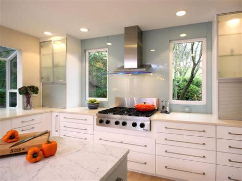 Contemporary White Kitchen  Yuko Matsumoto Hgtv