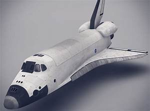 Space Shuttle 3D Model .max .obj .fbx .lwo .lw .lws .ma ...