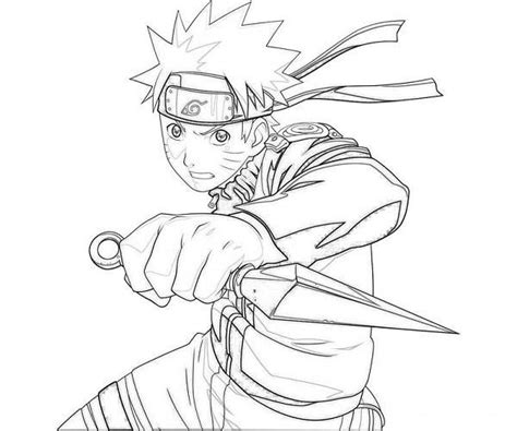 Dibujos Para Colorear De Naruto