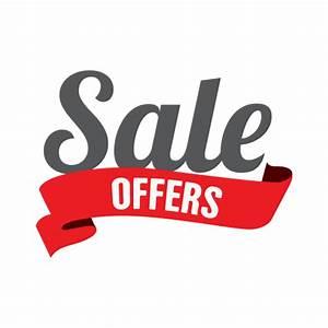Sale offer ribbon label - Transparent PNG & SVG vector