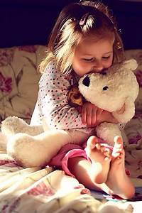 Teddy Bear & girl | Teddy Bear Hugs | Pinterest