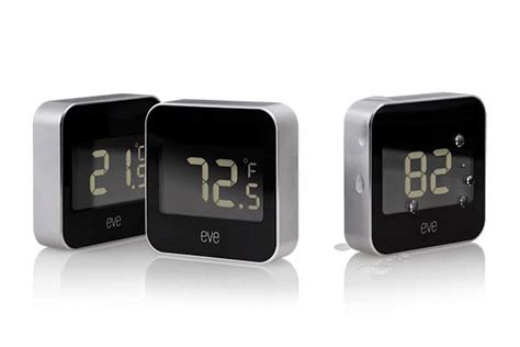 elgato eve degree homekit enabled temperature humidity