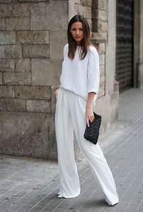 Tenue Blanche Homme : 1001 id es pour une tenue avec pantalon blanc fantastique ~ Melissatoandfro.com Idées de Décoration