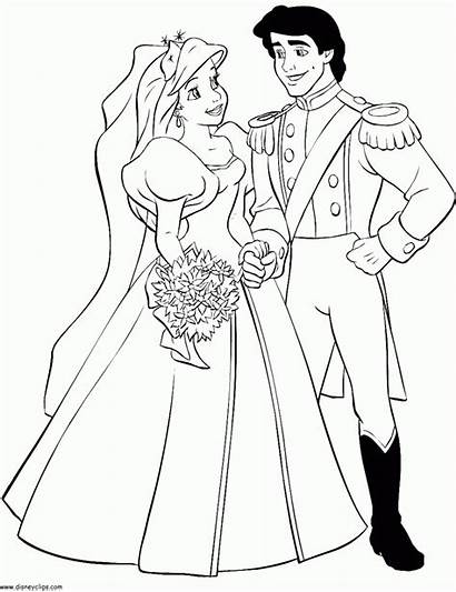 Ariel Coloring Pages Eric