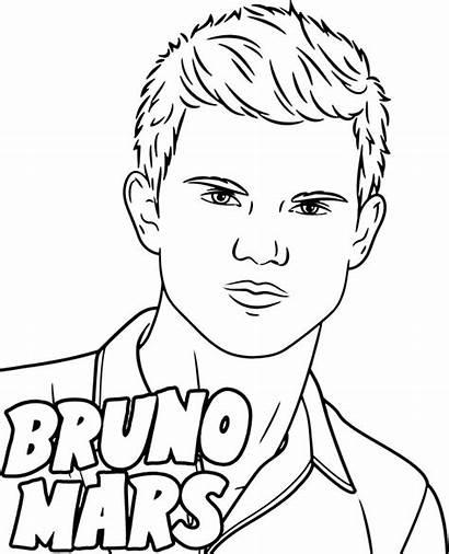 Coloring Mars Bruno Singers Pages Sheet Singer