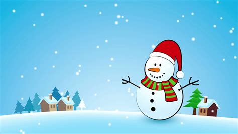 Animated Snowman Wallpaper - santa claus animated greeting card 3d
