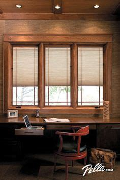 window treatments  casement windows pella designer series blinds  shades protected