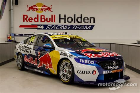 red bull holden  supercars livery unveiled