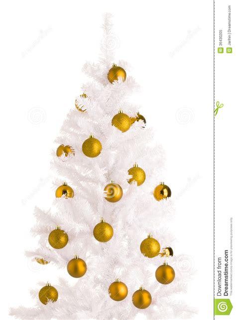 white christmas tree royalty free stock photo image