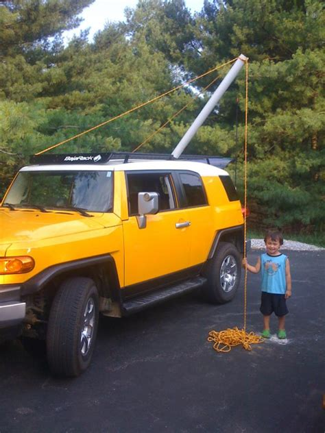 fj roof rack hammock chair idea toyota fj cruiser forum