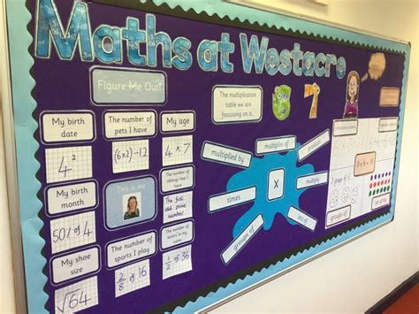 "Westacre Middle On Twitter ""new #maths Display In School Whole School Focus On Times Tables"