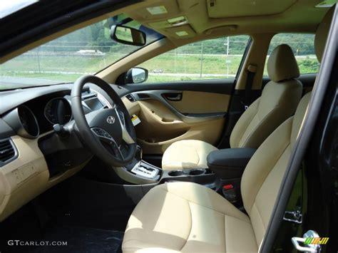 Used 2018 hyundai elantra value edition. Beige Interior 2012 Hyundai Elantra Limited Photo ...