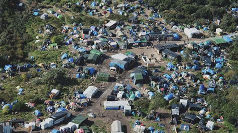 calais migrant camp grows  winter approaches bbc news