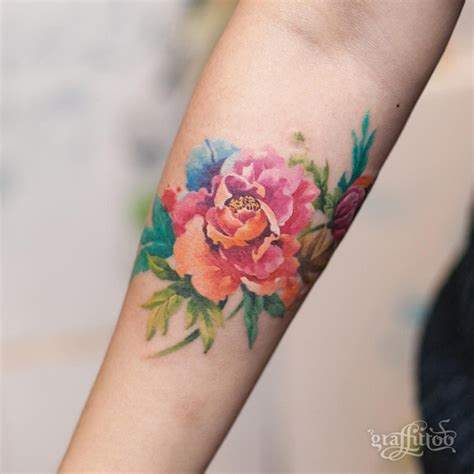 gorgeous colors  softness tattoos pinterest