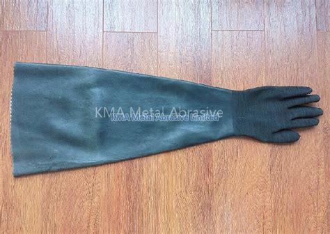 blasting cabinet gloves 82 cm size 10 manufacturer
