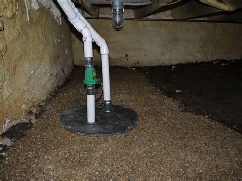 concrete drill bit sump install cabin diy