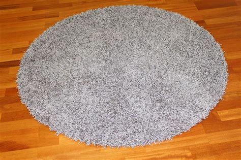 rund teppich  cm fancy grau trendcarpetde