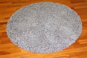 Tapis rond Fancy (gris) Trendcarpet fr