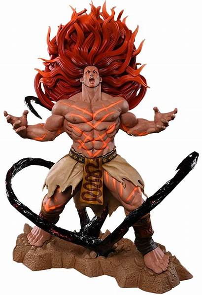 Street Fighter Statue Characters Necalli Chun Li
