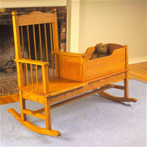 benches rocker cradle wood plans