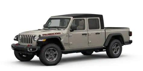 jeep gladiator paint colors