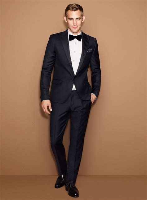 74 best images about 25-Year Gala Old Hollywood mens fashion on Pinterest | Tuxedos Bow ties ...