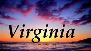 Virginia  Significado Y Origen Del Nombre