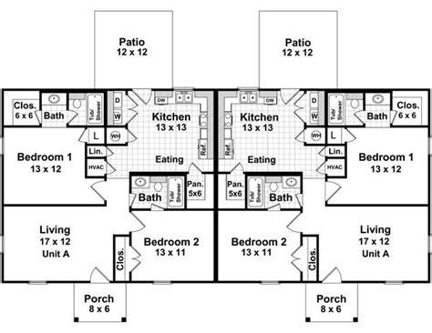 duplex   bedrooms   baths  house designers