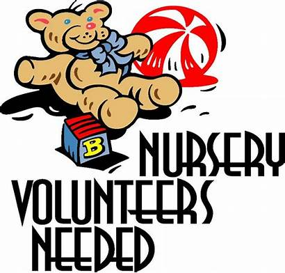 Nursery Needed Church Clip Volunteers Clipart Cliparts