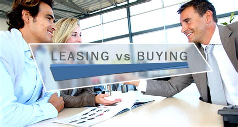 buying a car vs leasing auto leasing vs buying a car