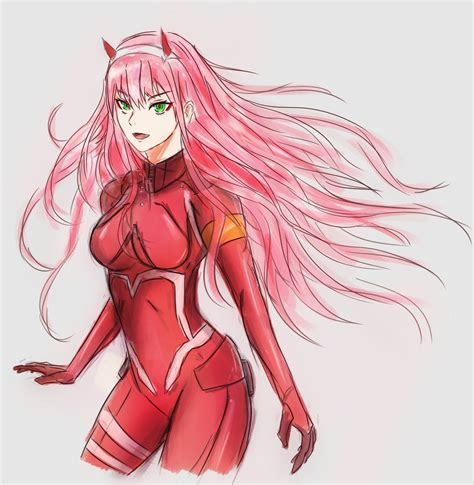 Submitted 7 years ago by manlymanmanson. FanartOC Zero Two - Darling in the FranXX : anime