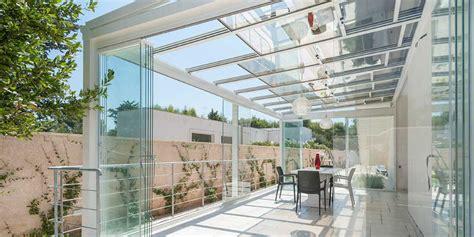 Tettoie In Vetro Prezzi Veranda In Alluminio Con Tetto Apribile Copertura In