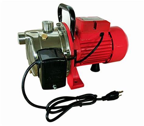 hallmark industries max  jet pump  pressure