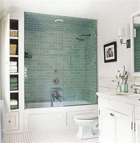 blue subway tile bathroom upgrade ideas blue subway tile with bathtub