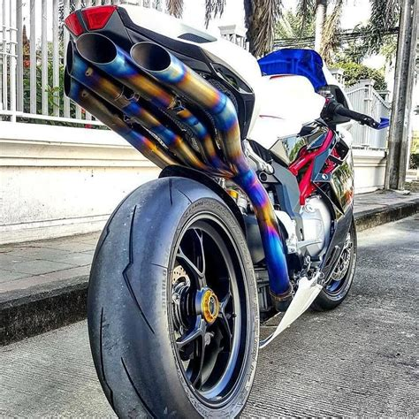 Augusta Suzuki by Mv Agusta F4 Titanium Exhaust That Motorcycle