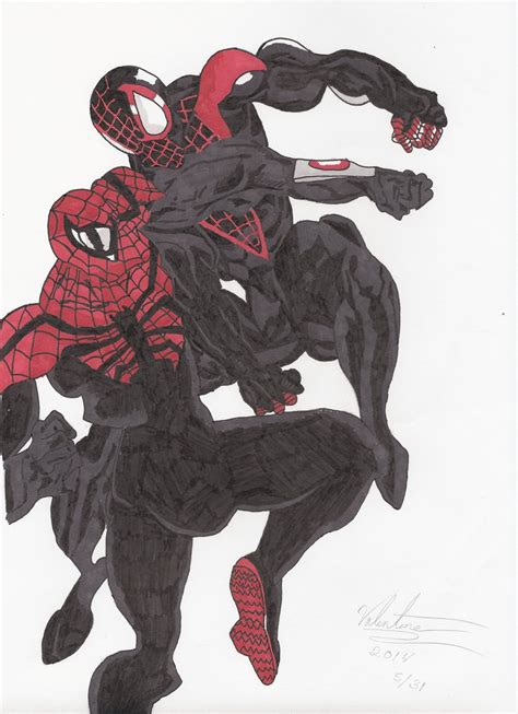Spider Man Miles Morales Vs Doc Ock Superior By
