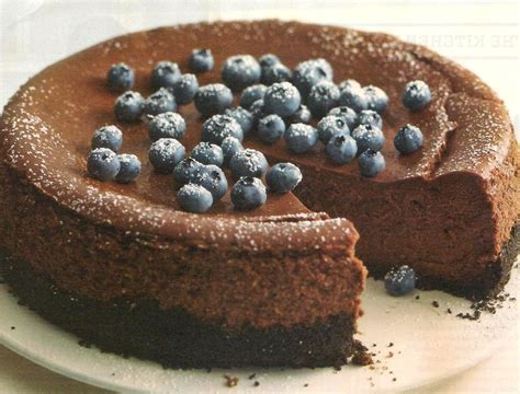 Mix together the butter and biscuit crumbs. PHILADELPHIA DoubleChocolate Cheesecake Recipe — Dishmaps - Delicious Recipes