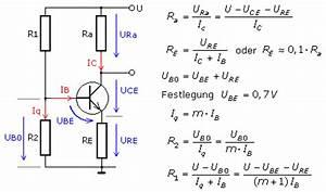 Emitterschaltung Berechnen : emitterschaltung von transistorverst rker ~ Themetempest.com Abrechnung
