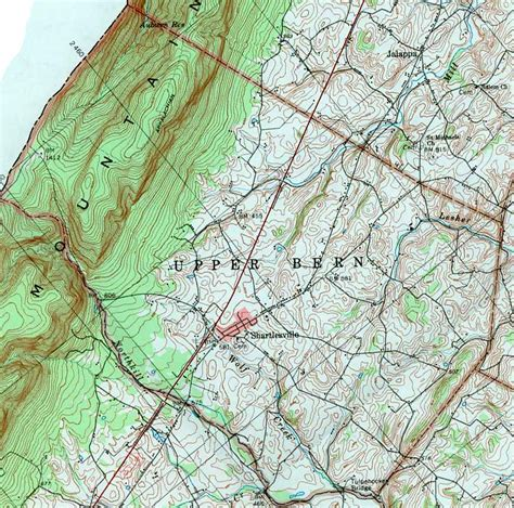 Sinking Borough Berks County Pa by Berks County Pennsylvania Township Maps