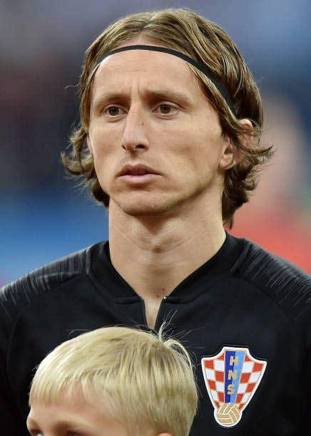 Luka Modric Croatia During The Fifa World Cup