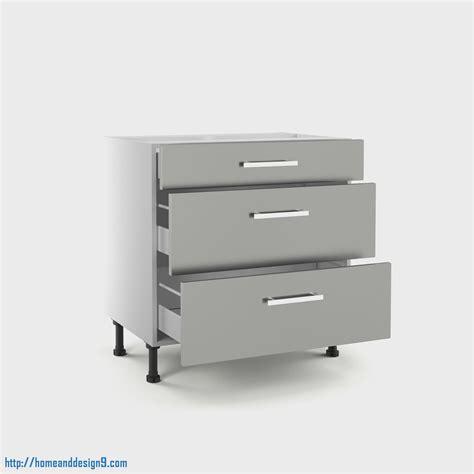 meuble cuisine avec tiroir meuble bas cuisine 3 tiroirs meuble de cuisine bas gris 3