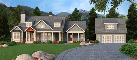 craftsman retreat  detached garage rl architectural designs house plans