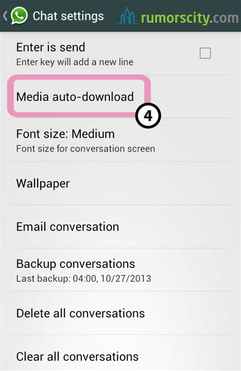 how to save to android how to stop whatsapp from saving photos and media
