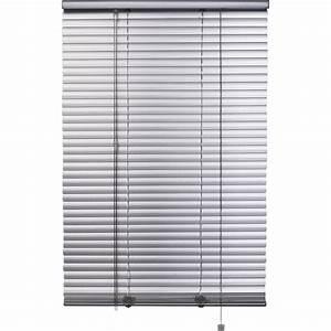 store venitien aluminium aluminium satine l150 x h175 With store pas cher exterieur