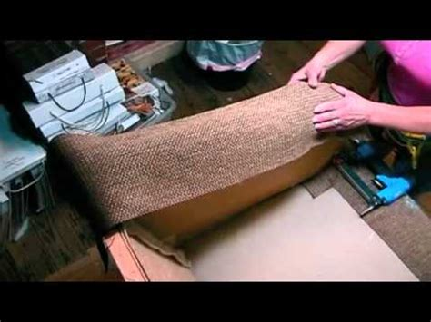 how to cover sofa arms upholstery how to cover the arm top on a sofa youtube