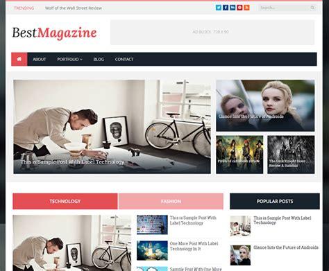 best blogger best magazine btemplates