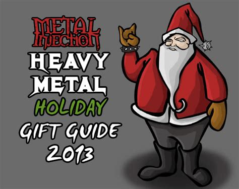 heavy metal holiday gift guide 2013