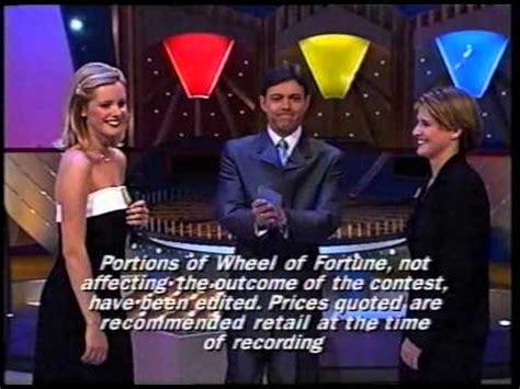 wheel  fortune australia opening closing october