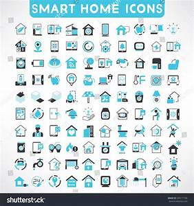 Smart Home Icon : home automation icons set smart home stock vector 249171766 shutterstock ~ Markanthonyermac.com Haus und Dekorationen
